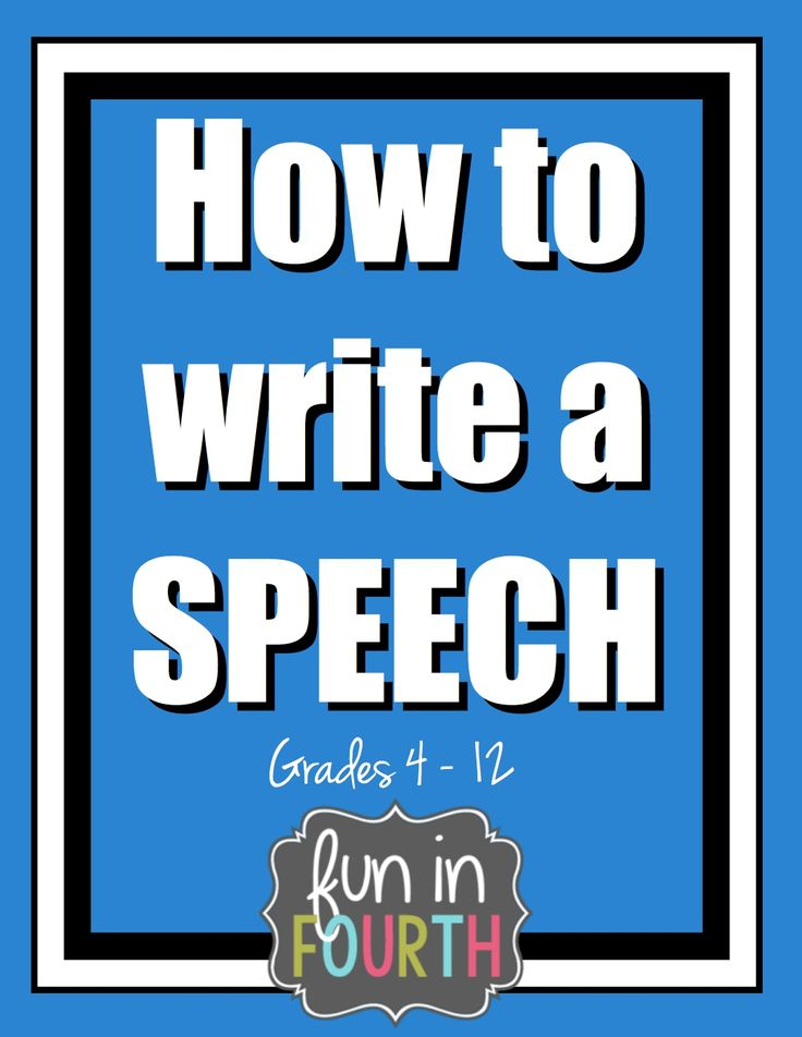 how to write a speech introduction and conclusion