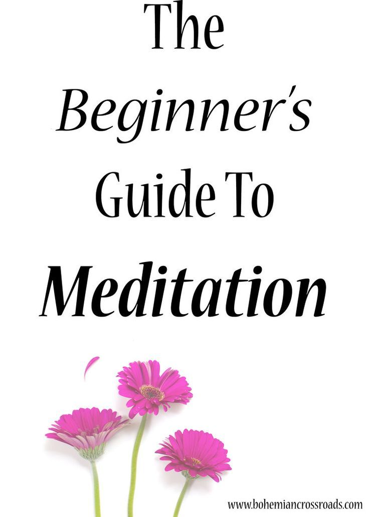 This was an awesome guide! Who knew meditation could be so helpful to our minds and bodies.