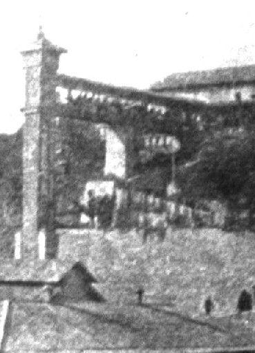 Antiguo Ascensor Vertical del Hospital San juan de Dios. Actual Hospital Carlos Van Buren