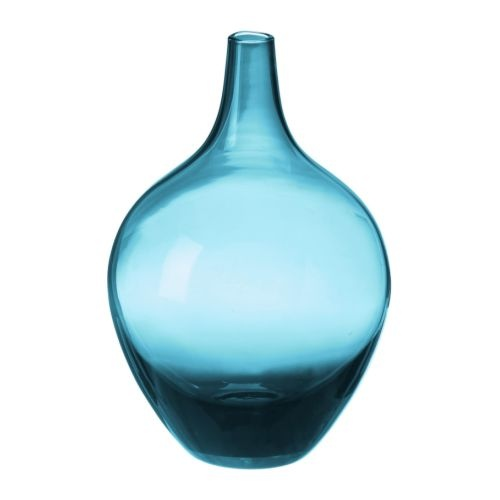SALONG Vase IKEA Mouth blown; each vase has been shaped by a skilled craftsman.: Turquoi Vase, Decor Ideas, Blue Vase, 799, Ikea Salong, Salong Vase, Turquoise Glasses, Blue Glasses Vase, Colors Glasses