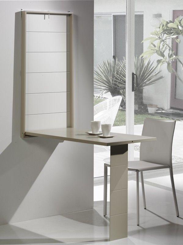 Las 25 mejores ideas sobre mesa abatible pared en - Mesas pequenas plegables ...