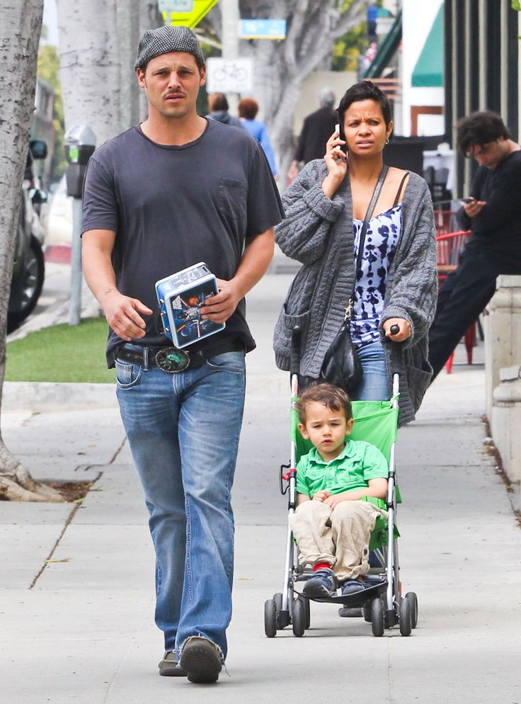 Justin Chambers Keisha Chambers Photos: Justin Chambers And Family Shopping In Santa Monica