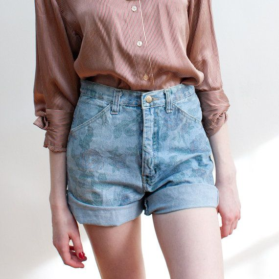 21 best 1980 high waist jeans short/long images on Pinterest