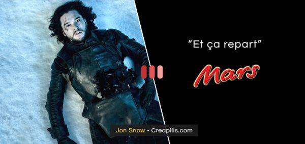 Top 10 des personnages de Game of Thrones s'ils étaient des slogans de marques célèbres | Topito