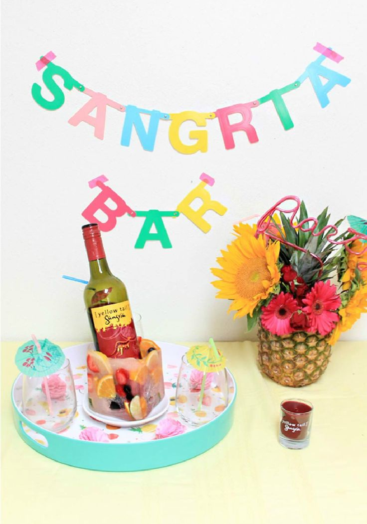 Entertaining Tips For A Sangria Party