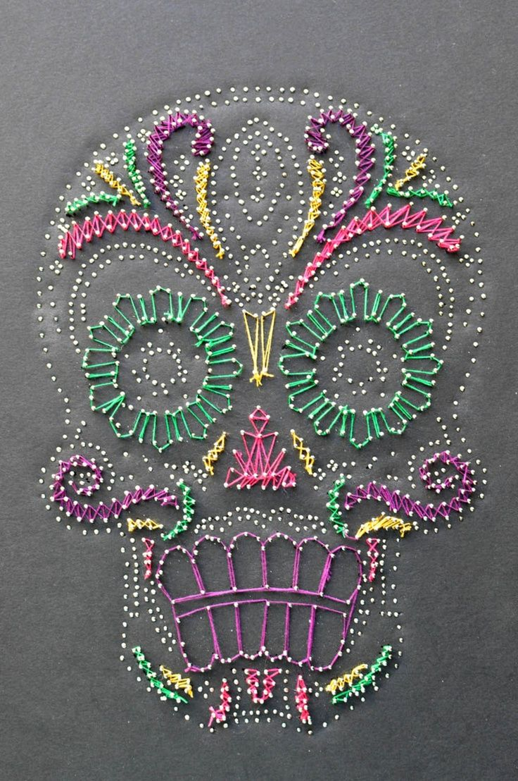 pin and string art | pins and string | Art Is...