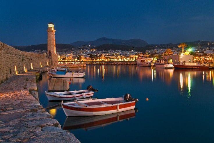 Lighthouse at Rethymno, #Crete