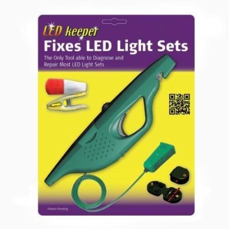 led keeper led christmas light strings tester tests and repairs led light strings - Led Christmas Light Tester