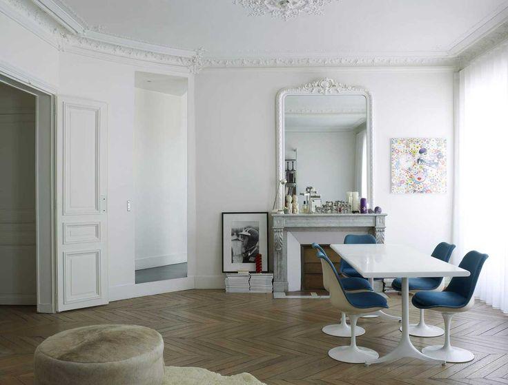 Glorious Paris Apartment Interiors By Regis Larroque