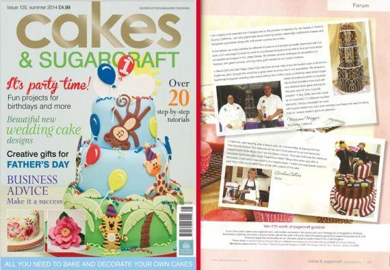 Cakes and sugarcraft - issue 125. - mgrillazs.eliveport.com #simivalley #losangeles #brittle