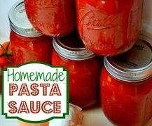 Recipe Homemade Pasta Sauce by ashgray - Recipe of category Basics