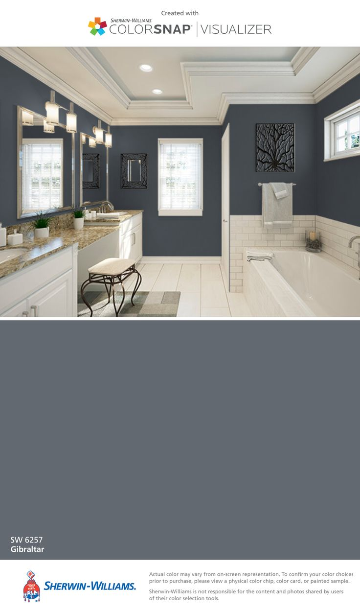 SherwinWilliams Gibraltar SW 6257  Paint Colors in