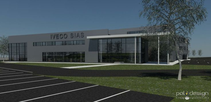 New dealership and workshop Sias Iveco Moscow