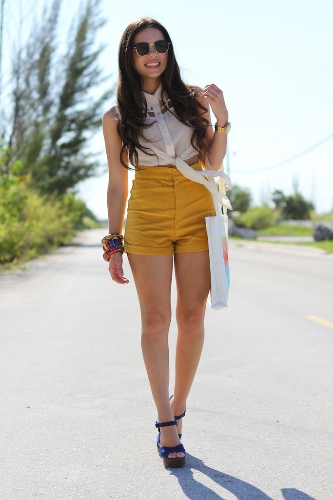 9 best Yellow Shorts images on Pinterest