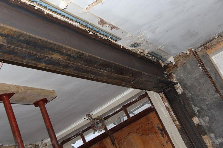 9 best Пояс перекрытия images on Pinterest Openness, Exposed beams - prix casser mur porteur