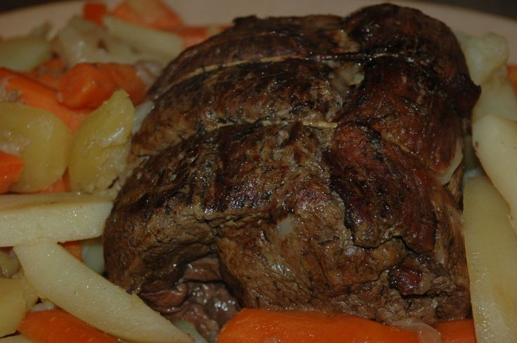 Try this great best recipe for pot roast in a dutch oven.  It's delicious and easy.