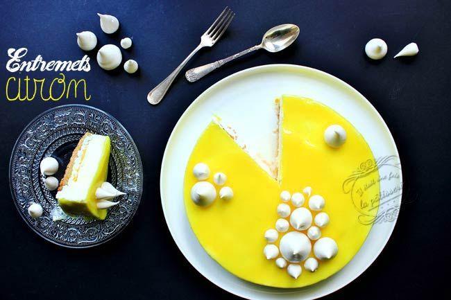 Entremets citron