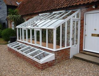 home addition green house | An Edwardian lean to greenhouse replacement of the original