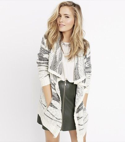 Feeling tribal. Take the streets by storm with this undeniably gorgeous cardi.