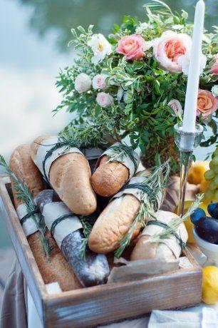 Итальянский завтрак для сентябрьской свадьбы Ильи и Дианы