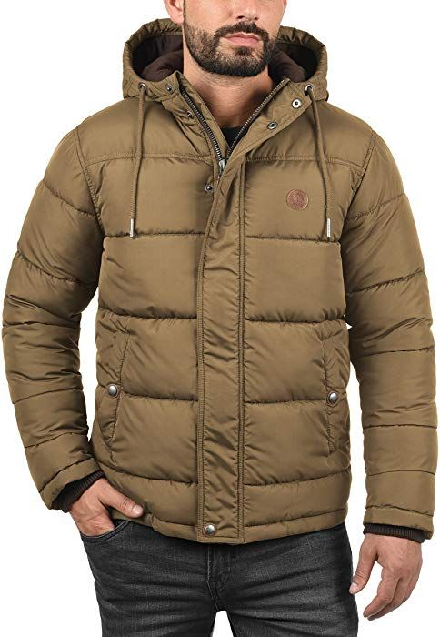 Solid Denilson Herren Winterjacke Herrenjacke Jacke Steppjacke, Größe L,  Farbe Sepia fbc749dd4b