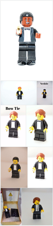 Custom Lego Minifigure Groom or Ring Bearer ~ Wedding Lego ~ Lego Wedding ~ Lego Gift ~ Wedding ~ Lego Nerd https://www.thedivinitybraid.com/listing/563131877/custom-lego-minifigure-groom-or-ring