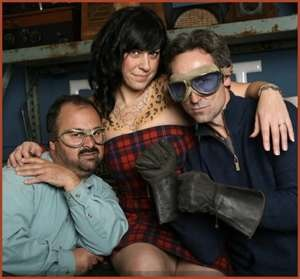 American Pickers. Frank, Danielle, and Mike. Love them! Another show my hubs and I are addicted to!