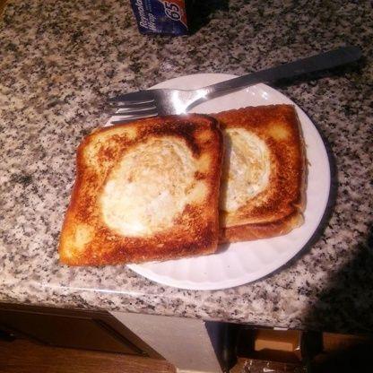 V For Vendettas - Eggy In A Basket! Recipe - Food.com