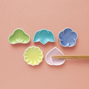 Ceramic Chopstick Rest for Japanese Good Luck