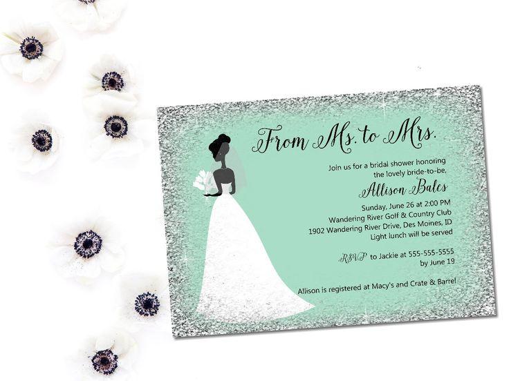 189 best Bridal shower invitations \ shower printables images on - printable bridal shower invites