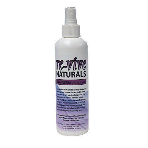 Re-vive Naturals Magnesium Oil Spray 8 Oz Food Grade Quality - http://essential-organic.com/re-vive-naturals-magnesium-oil-spray-8-oz-food-grade-quality/
