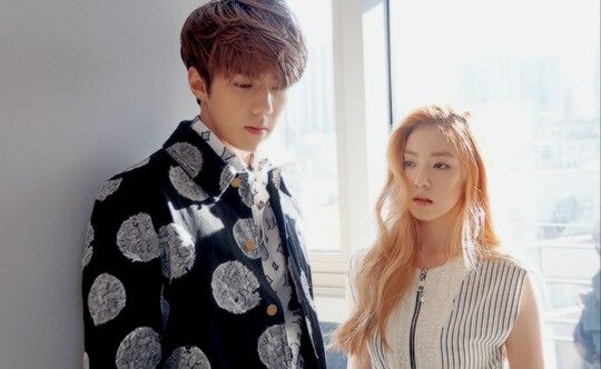 Sehun and Irene 2