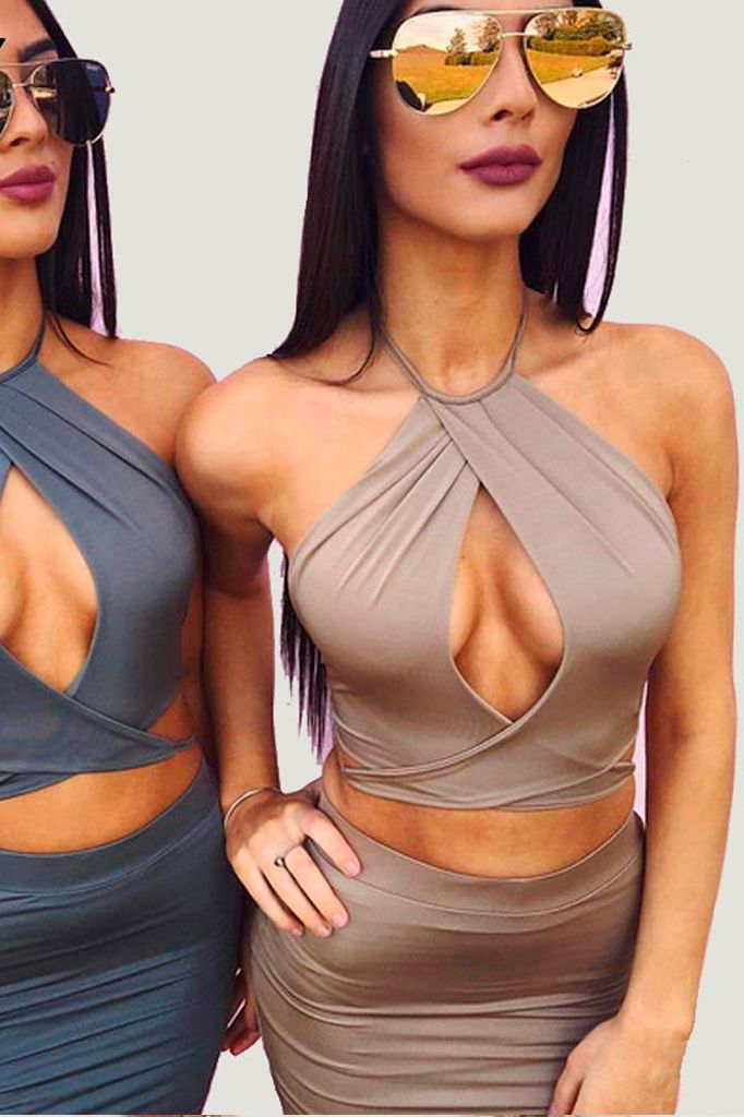 Cut Out Two Piece Set