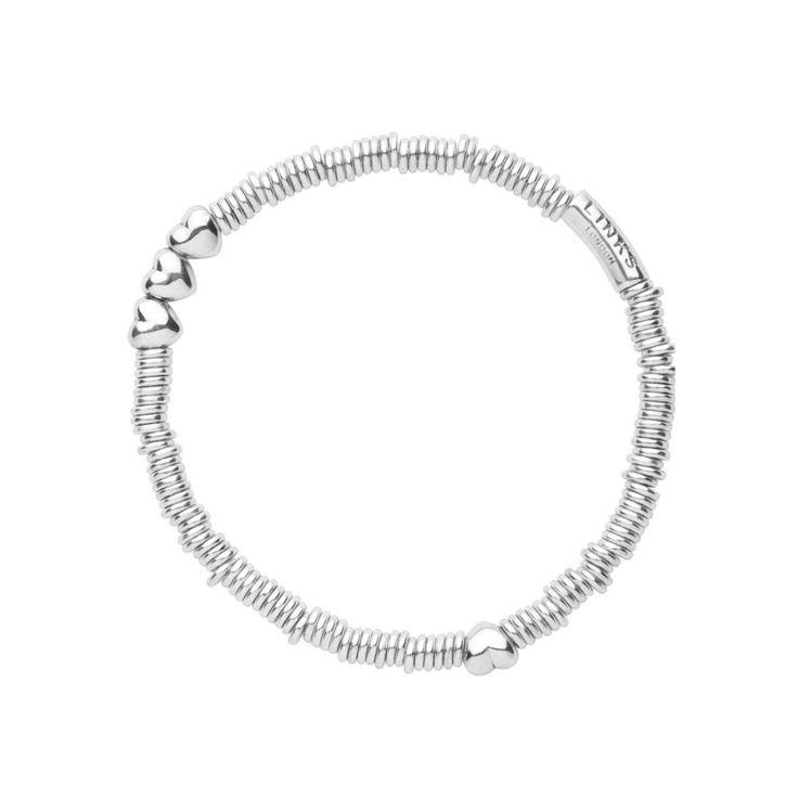 Oh my, a sweetie bracelet with a trio of hearts! I love.   Sweetie XS Heart Bracelet, Links of London Jewellery