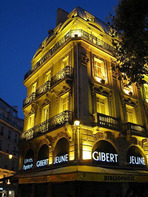 Librairie Gibert Jeune Paris France