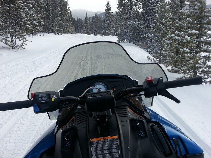 Snowmobiling at Breckenridge, CO via @jen