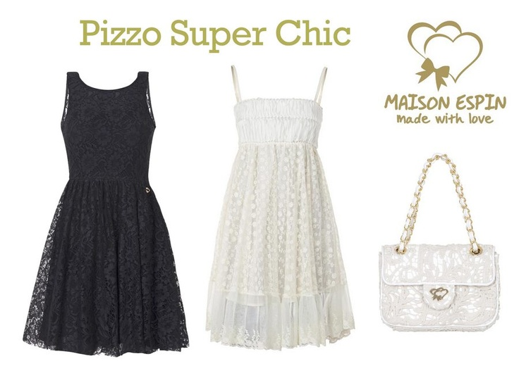 Pizzo super chic #maisonespin #springsummercollection13 #womancollection #pants #lovely #MadewithLove #romanticstyle #milano