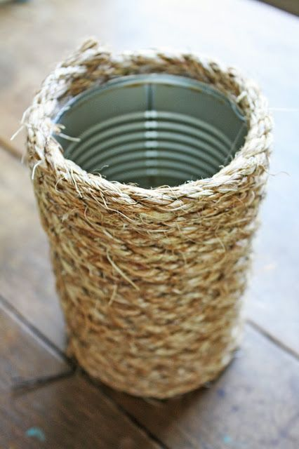 Simple Soup Can Upcycle