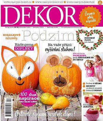 Nové vydání časopisu DEKOR