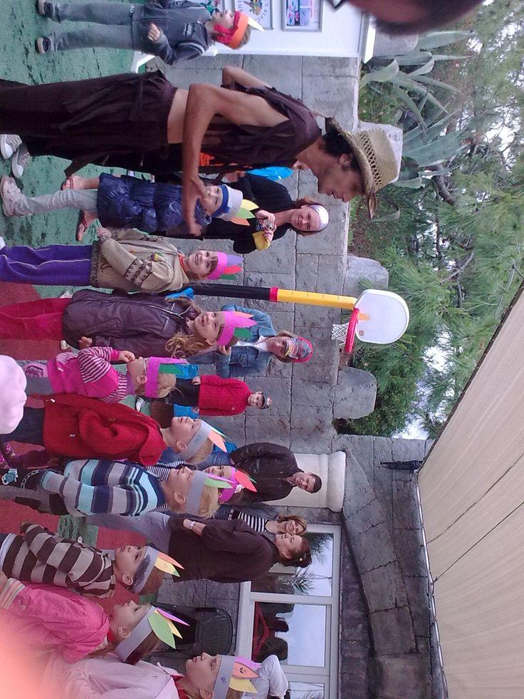 Наши маленькие туристы в Турции