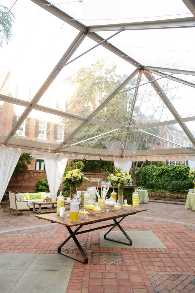 June Rehearsal Dinner #DCwedding #Yellow Photo by Paul Morse Photography Amazing Clear Top tent - Sugarplum Tent Company | Pinterest & June Rehearsal Dinner #DCwedding #Yellow Photo by Paul Morse ...