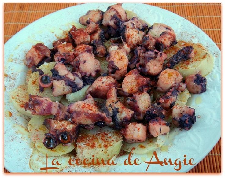 La cocina de Angie: PULPO A LA GALLEGA (y CÓMO COCER PULPO)