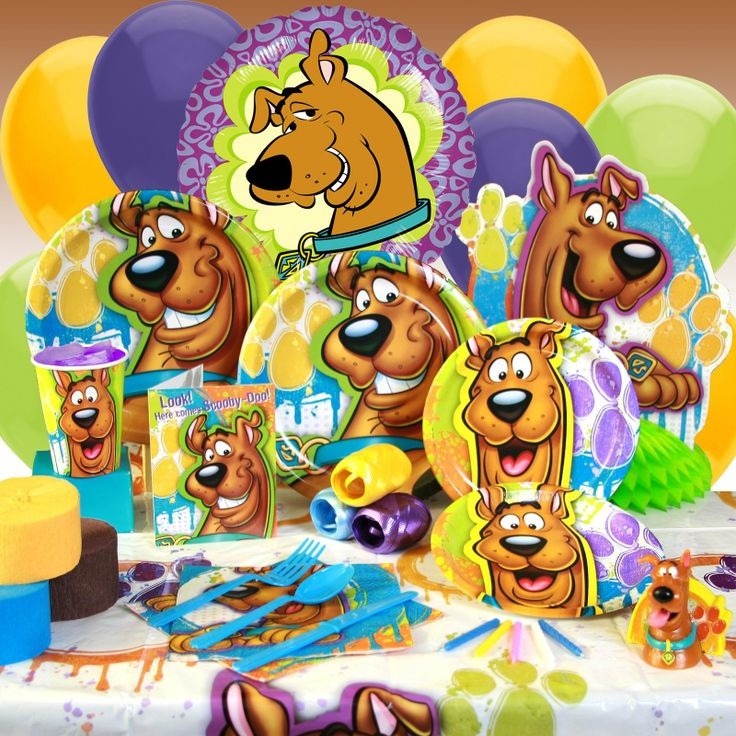 16 best Scooby Doo Party images on Pinterest Birthday party ideas
