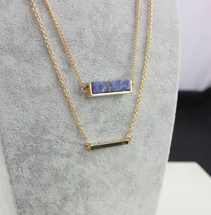 Aliexpress.com: Compre Artilady colar de 18 k banhado a ouro de cristal camada colar para mulheres jóias de confiança do sexo masculino colar fornecedores em ArtiLady Jewelry (Stylish Designer Brand)