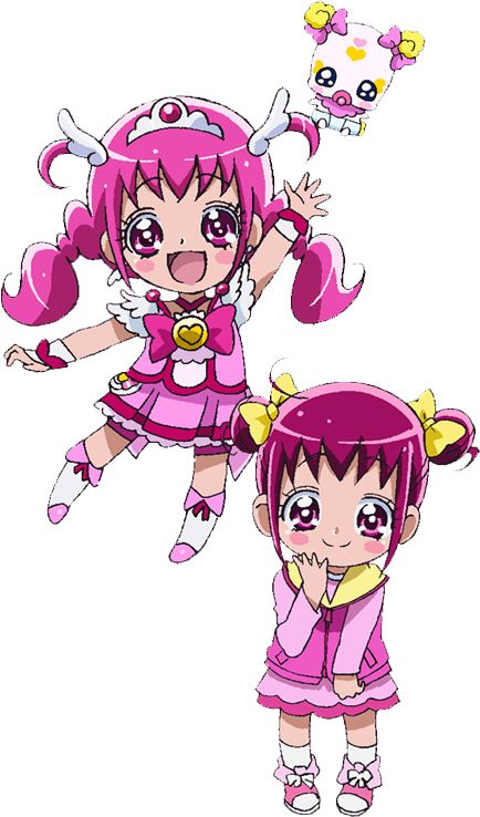 pretty cure doki doki how to draw
