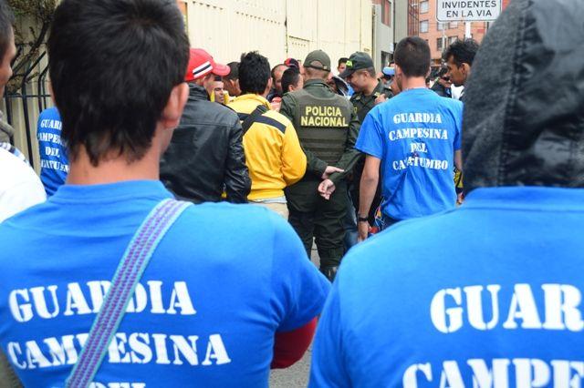 29 de mayo, marcha por las víctimas. Guardia Campesina. Defensoría.
