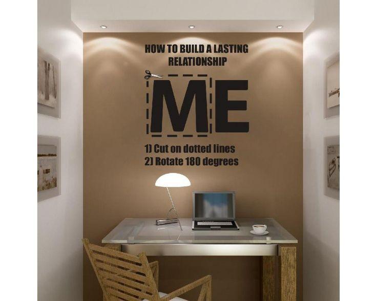 ME .. WE , αυτοκόλλητο τοίχου