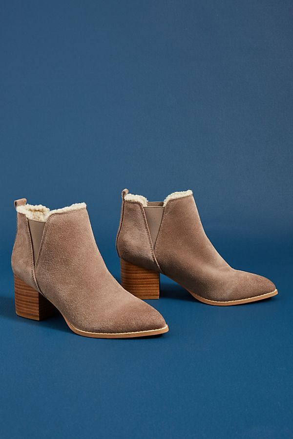71507acbc5 Slide View  2  Liendo by Seychelles Shearling-Lined Booties