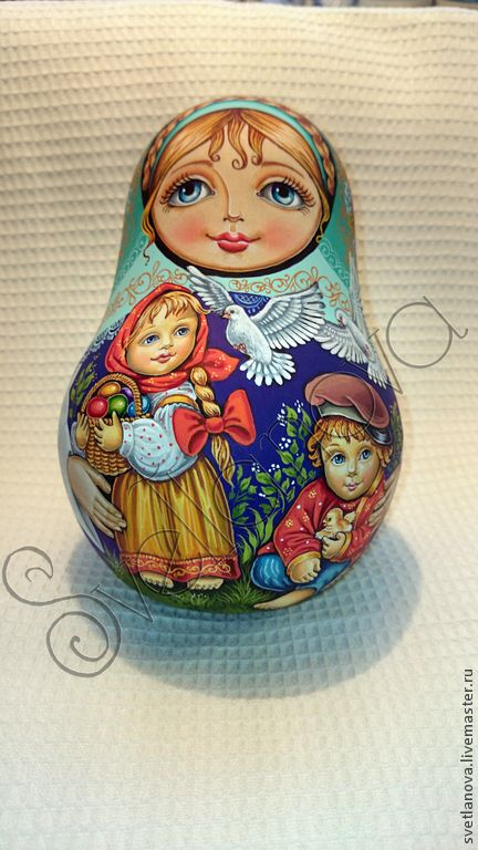 """Купить Неваляшка """"Пасха"""" - неваляшка, неваляшка музыкальная, Пасха, пасхальный сувенир, пасхальный подарок, матрешка"""