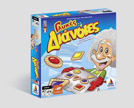 Περιεχόμενα  9 πλαστικά μπισκότα 1 ταμπλό 1 βιβλίο με 64 διαφορετικά puzzle Oδηγίες  Κατεβάστε τις οδηγίες: